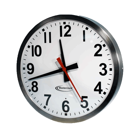 CLKNTD15-SS NTD Analog Clock