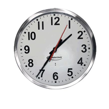 CLKTCD12-SS Time Code Analog Clock