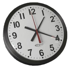 CLKTCD18 Time Code Analog Clock