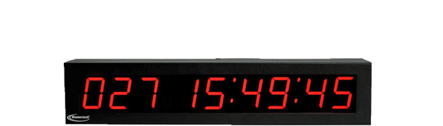 TCDS29 Time Code Digital Clock