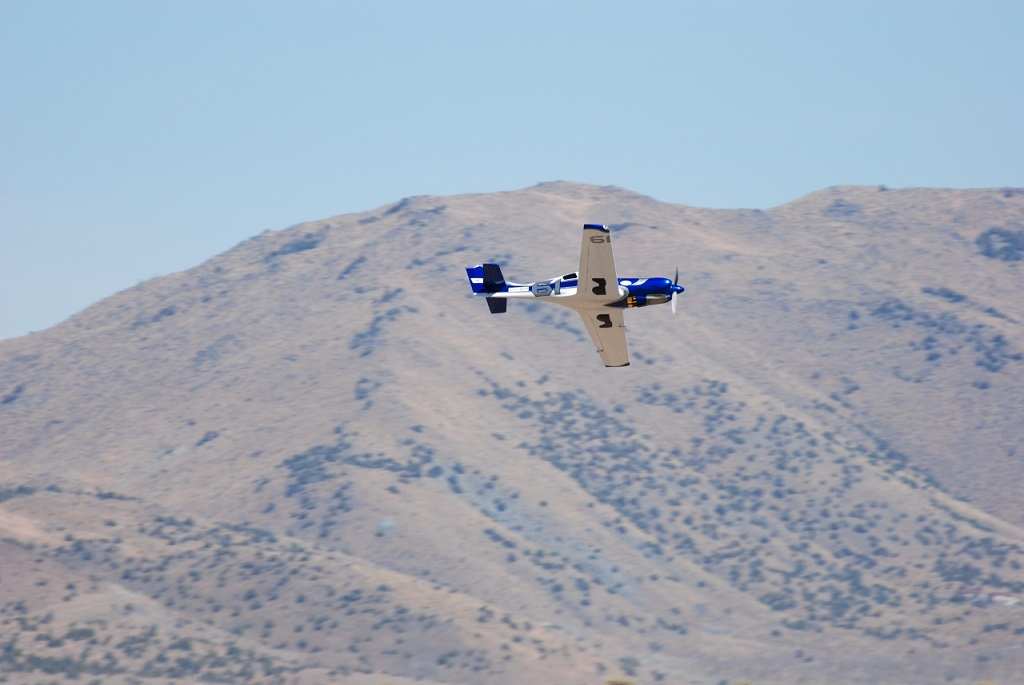 Louis Gabriel flies Blind Luck at the 2016 National Championship Air Races