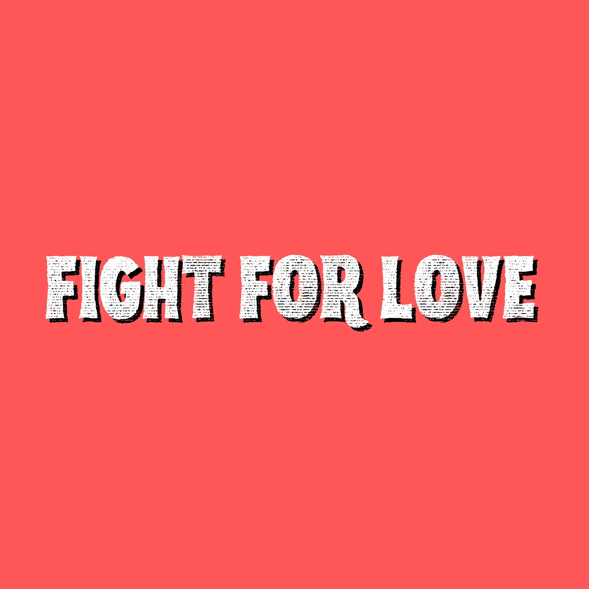 "FIGHT FOR LOVE - 2016 - Extras from ""Dig On Me"" era - produced by Alex Britten:  Fight For Love / Jewels (Live)"