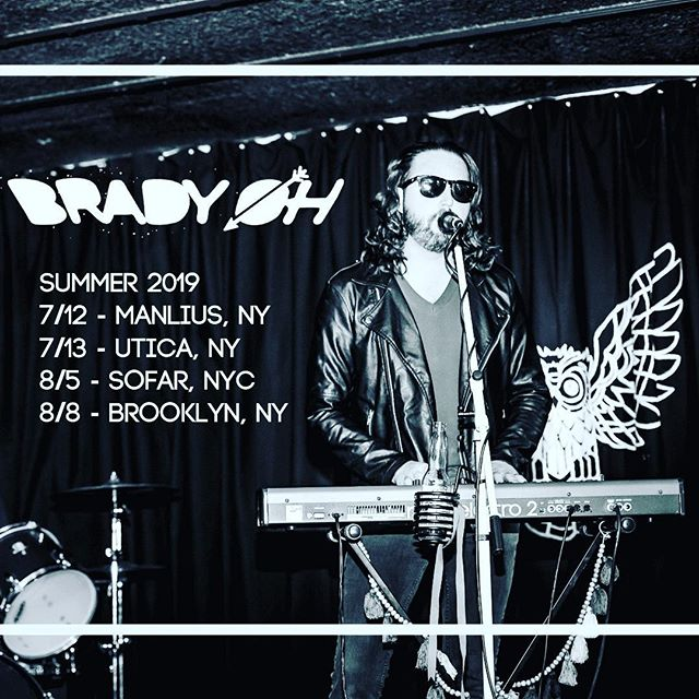last summer of the decade . . #livemusic #liveshow #summer #summertour #summer2019 #makeitcount #rockandroll #indierock #indieartist #music #ilovemusic #pop #funk #art #diymusician #nyc #brooklyn #centralny #sofarsounds