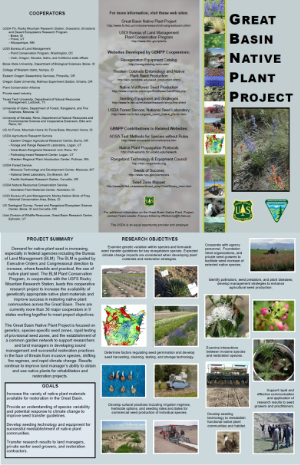 Great Basin Native Plant Project Brochure [.pdf]