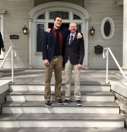 New Initiates: Brother Marc Wade and Brother Tanner Obermeier