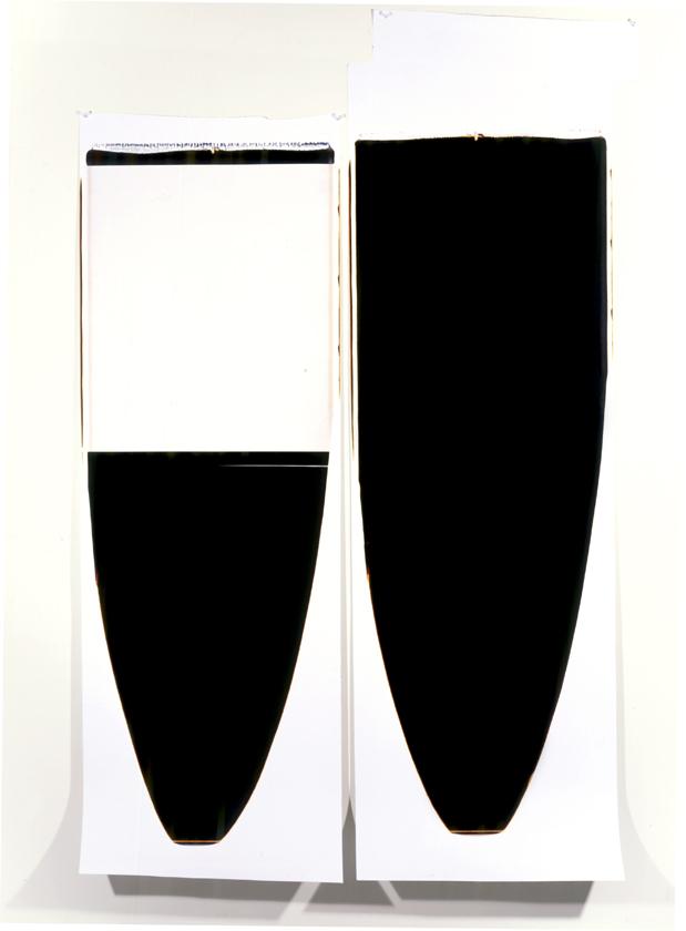 Ellen Carey White Pull/Black Pull 1996