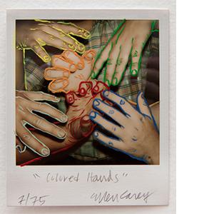 Painted Polaroid SX-70 Series ––