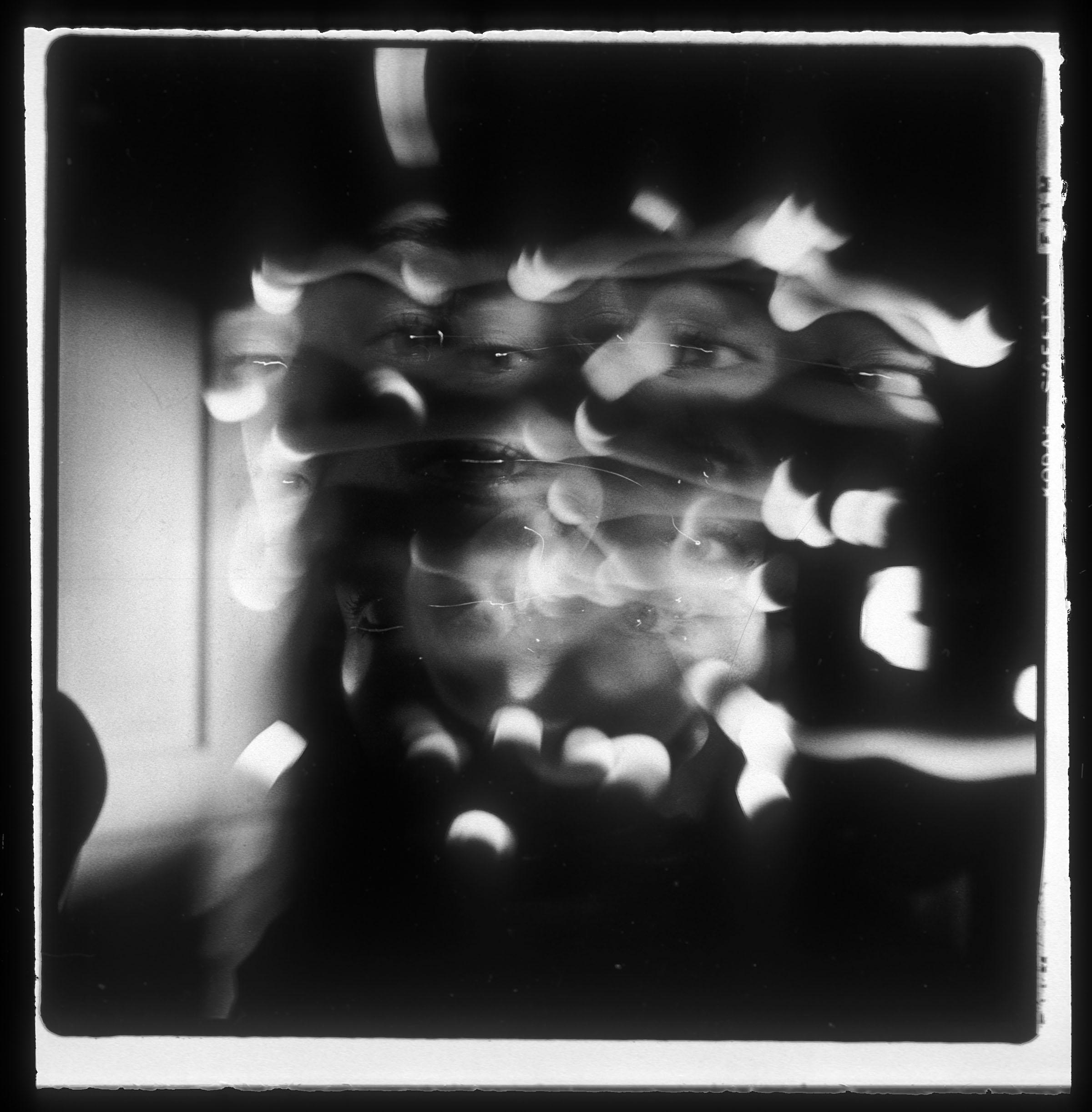 Ellen Carey, Light Portrait, 1976 ––