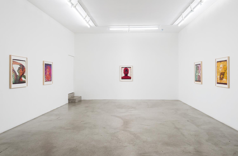 Ellen Carey: Polaroid 20 X 24 Self-Portraits  Installation view,M+B Gallery Los Angeles, CA 2015 ––