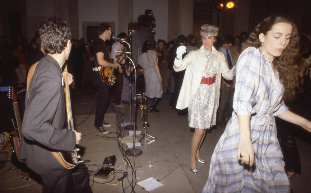 Ellen Carey Dancing in a Sparkling Dress Albright-Knox Art Gallery, 1979
