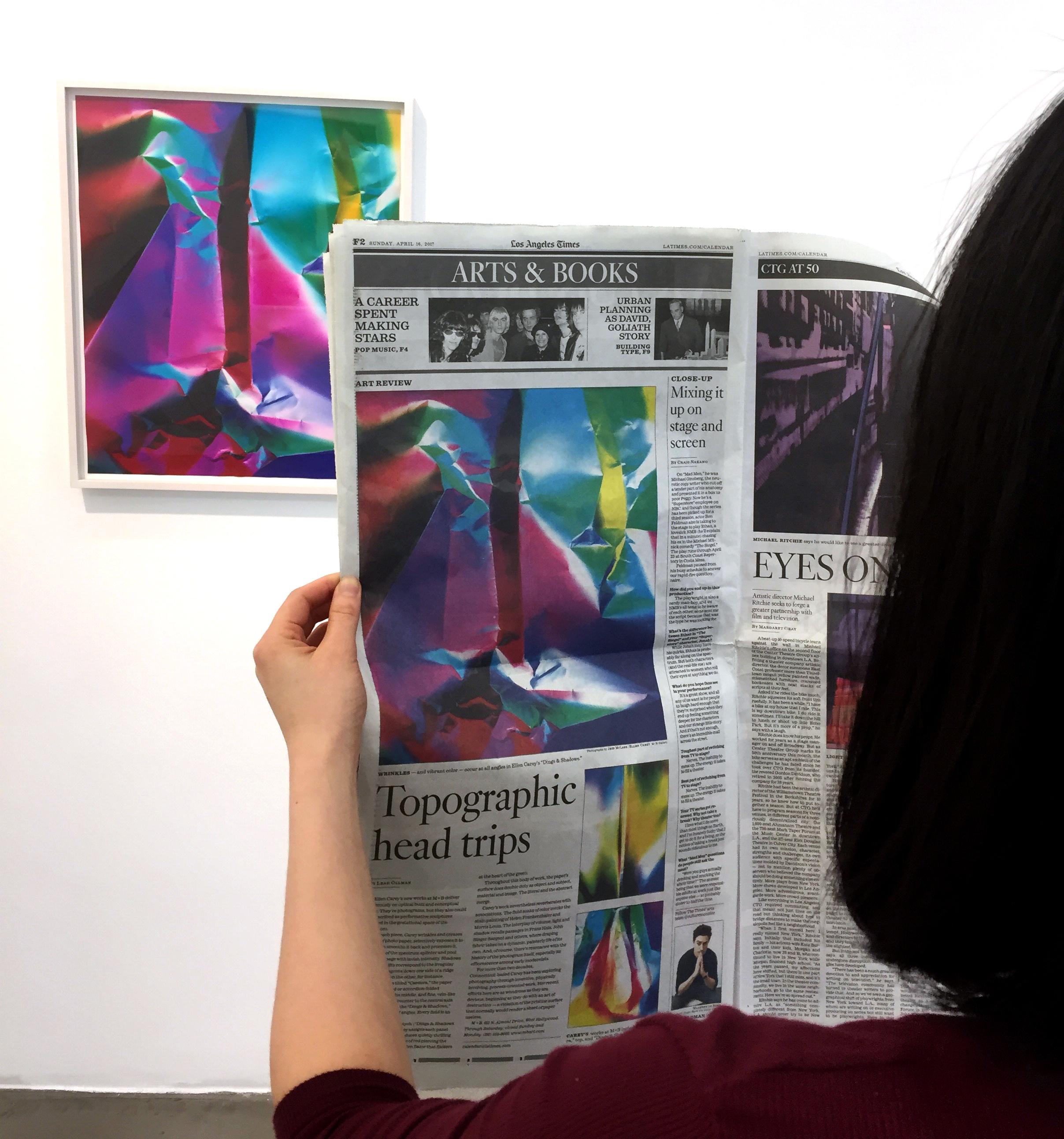 Ellen Carey Los Angeles Times