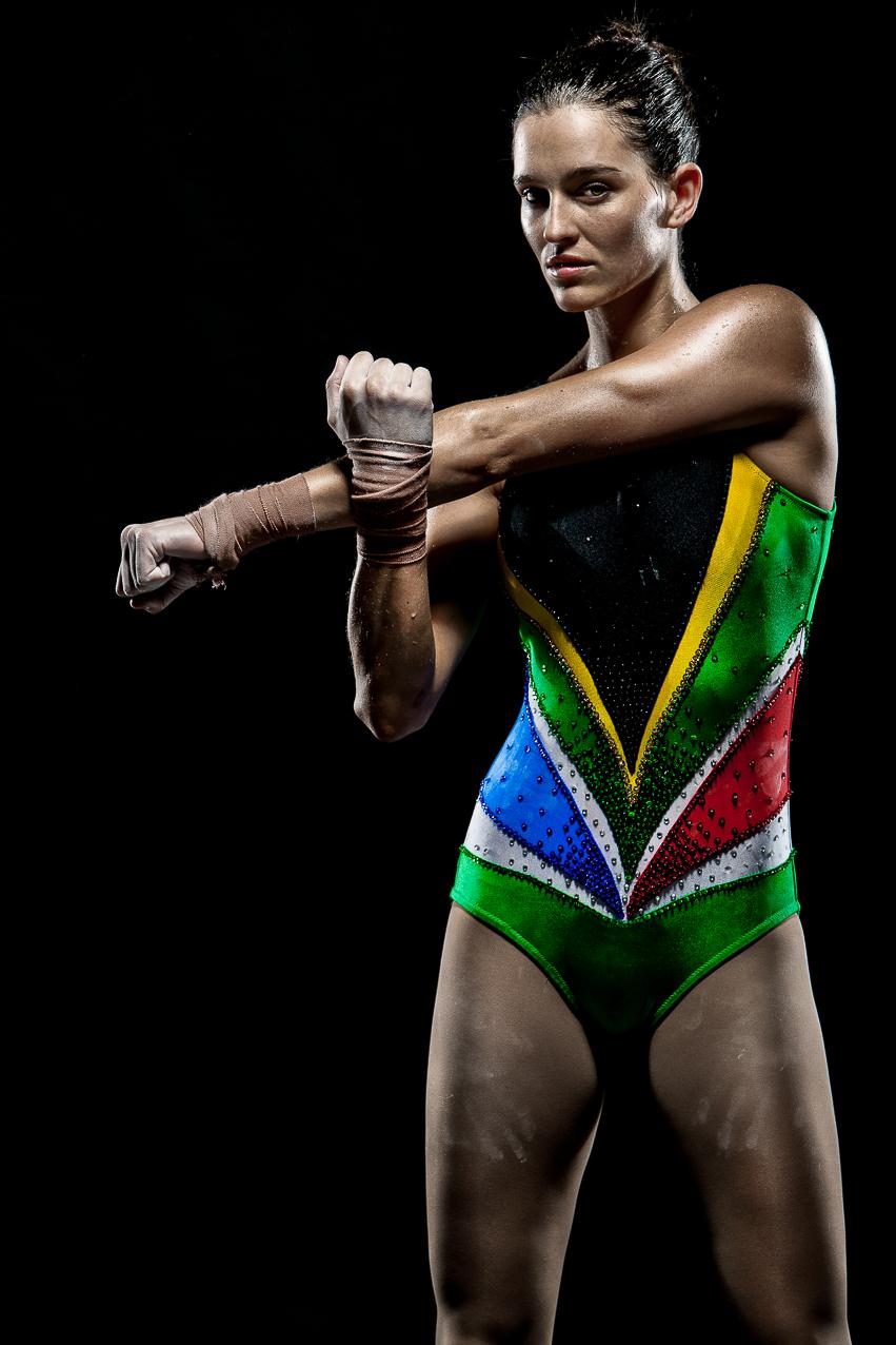 Dominique Mann - World Aerobic Gymnastic Champion