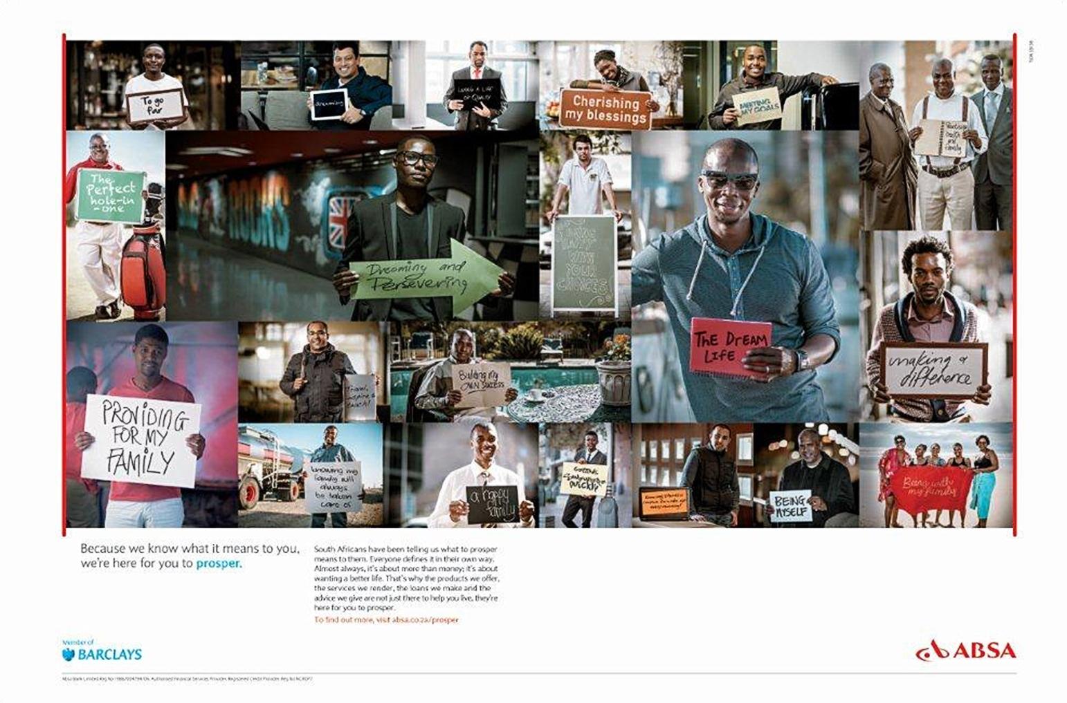 ABSA - Prosper Campaign