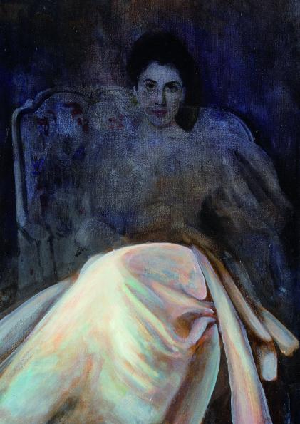 Gertrude Vernon 40 x 50 cm oil on linen