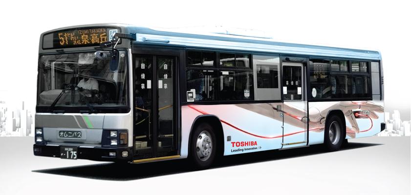 Kawasaki City - Bus Wrap
