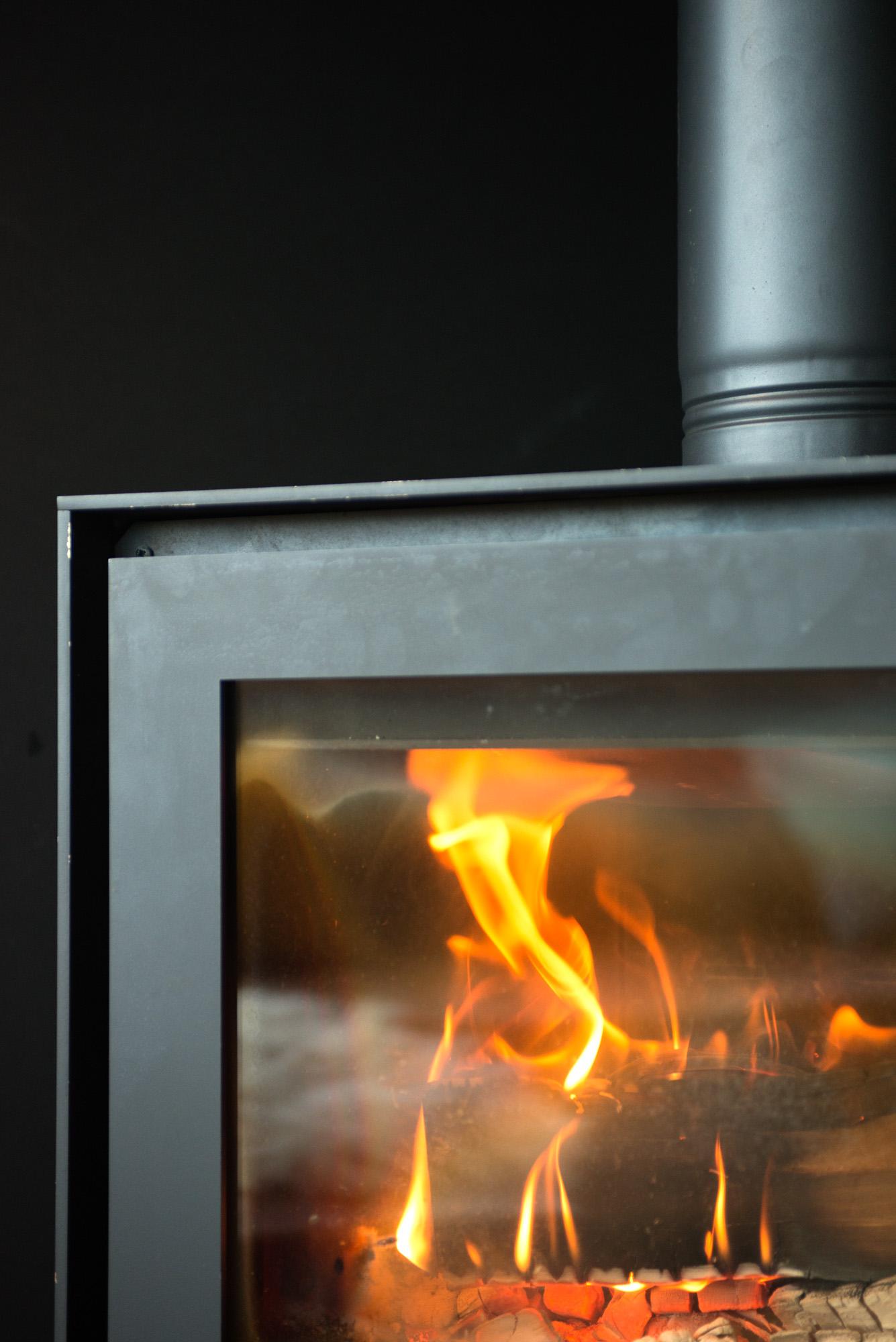 woodburner & underfoor heating