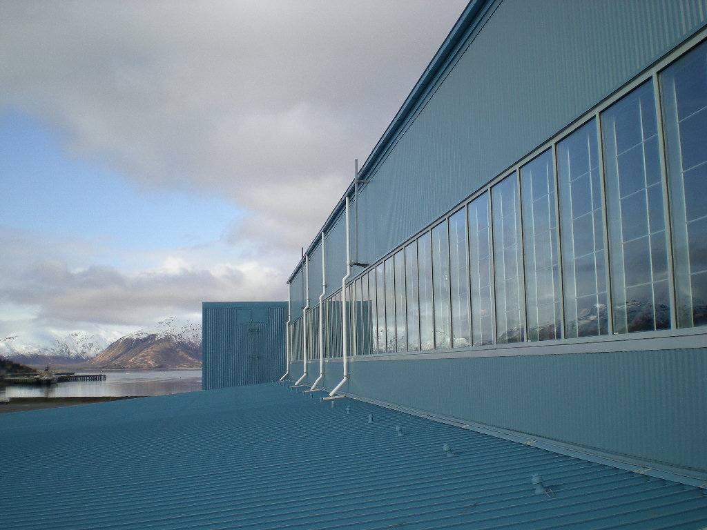 USCG Hangars 1 , 2 & 3 Clerestories Repair   Base Kodiak, Alaska