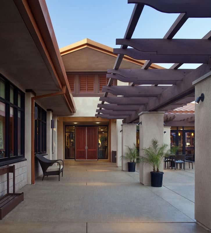 Miramar Clubhouse Breezeway