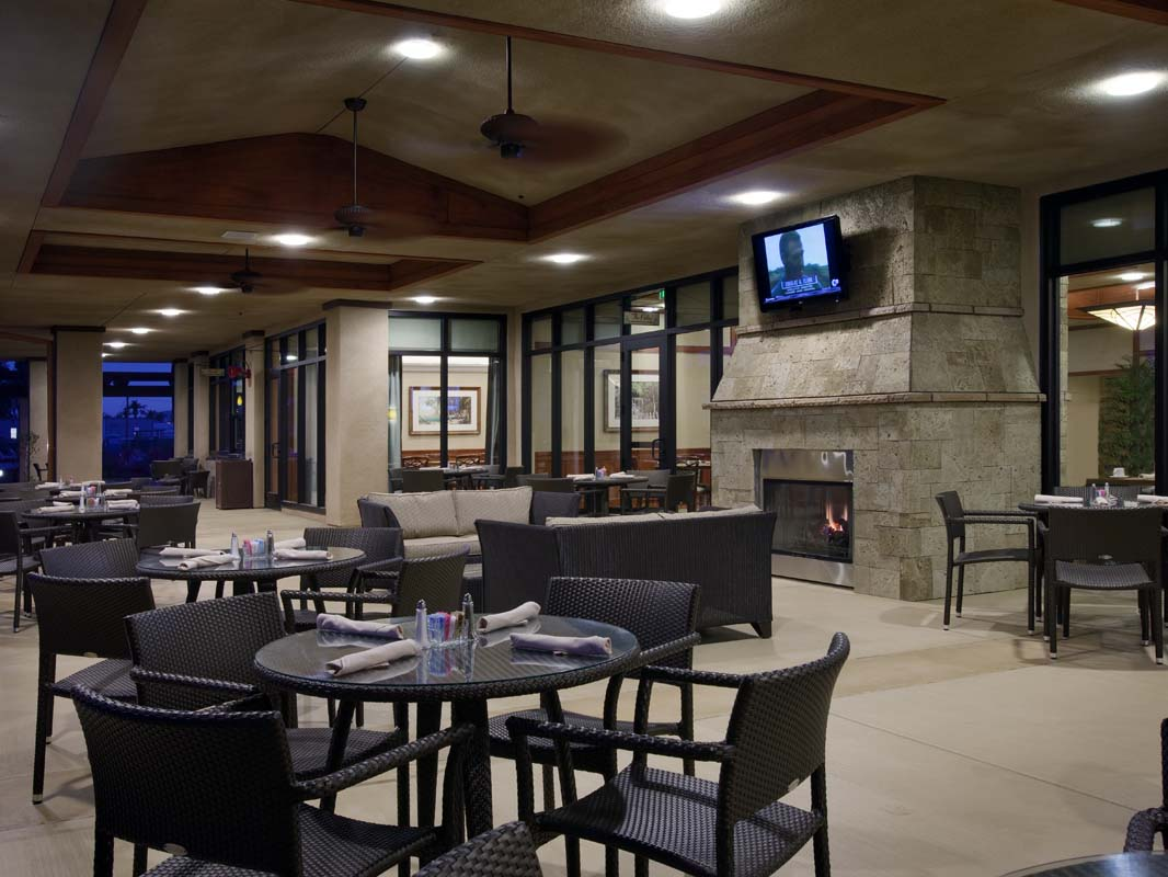 Miramar Clubhouse Outdoor Dining