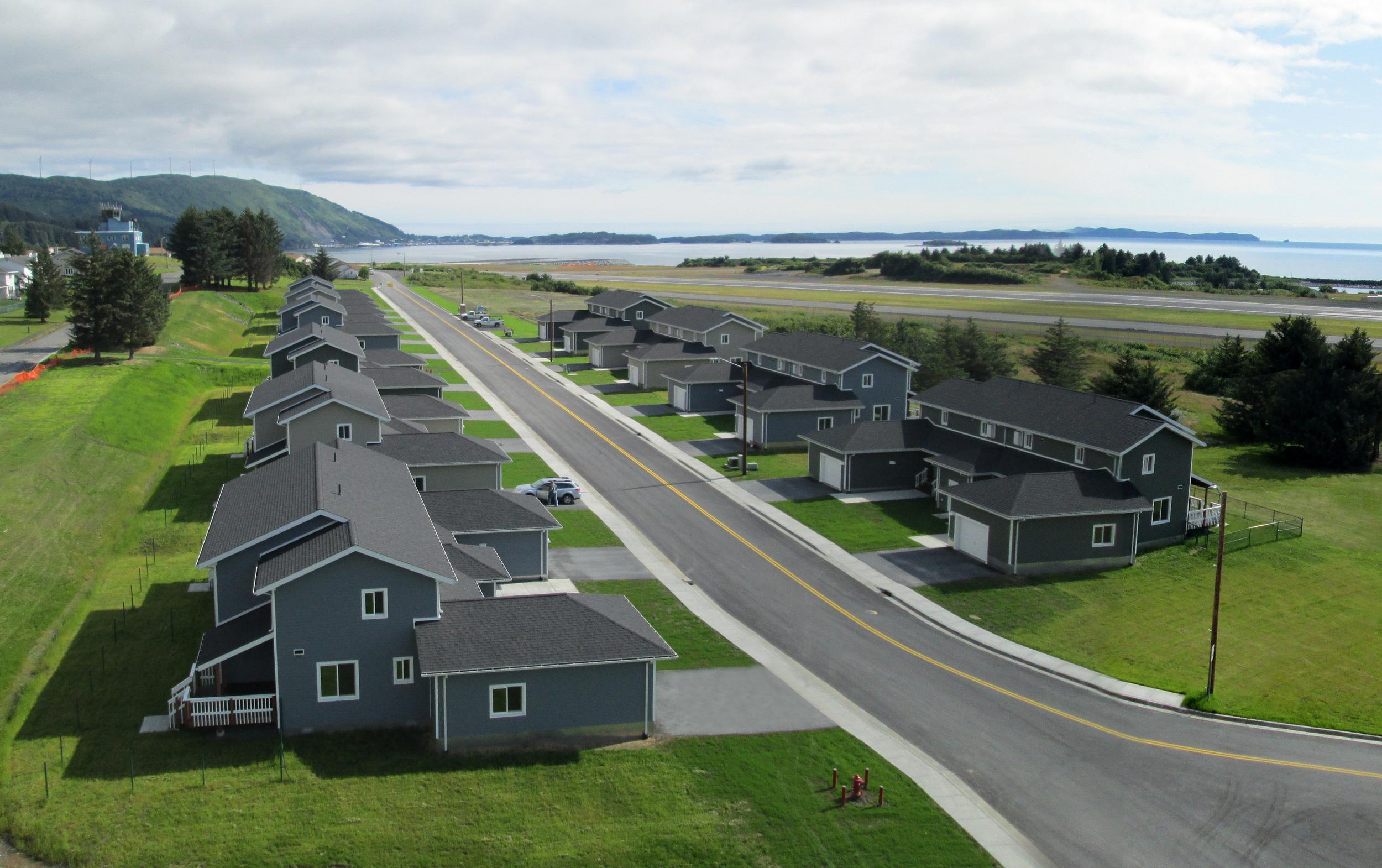 USCG Upper Government Hill Housing   Base Kodiak, Alaska