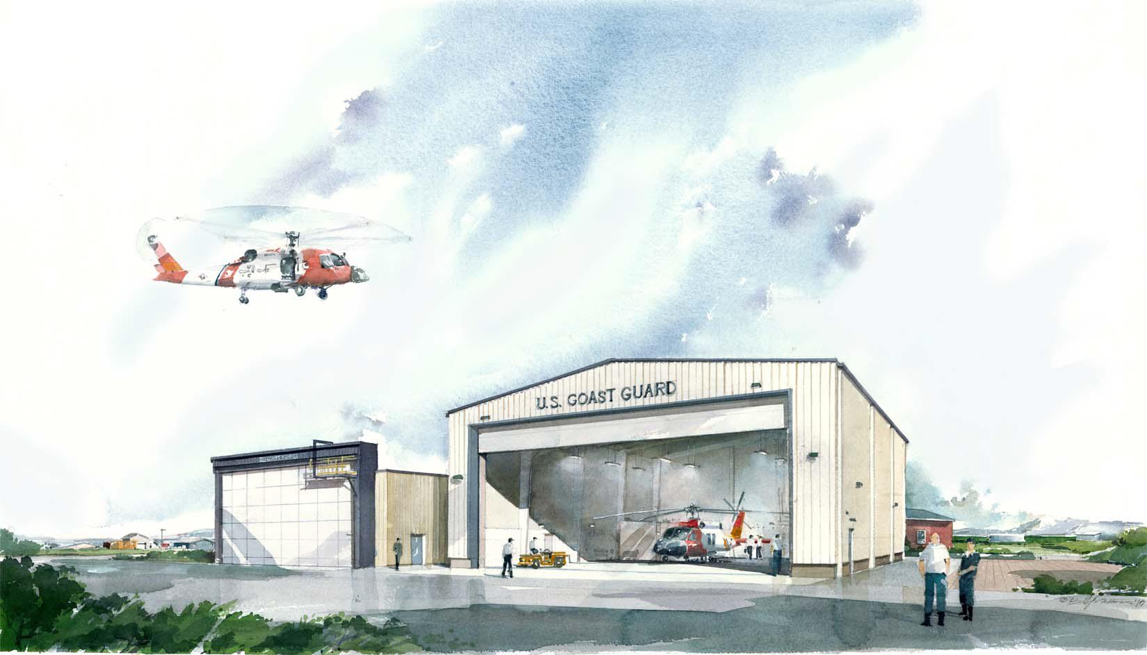 Hangar Rendering