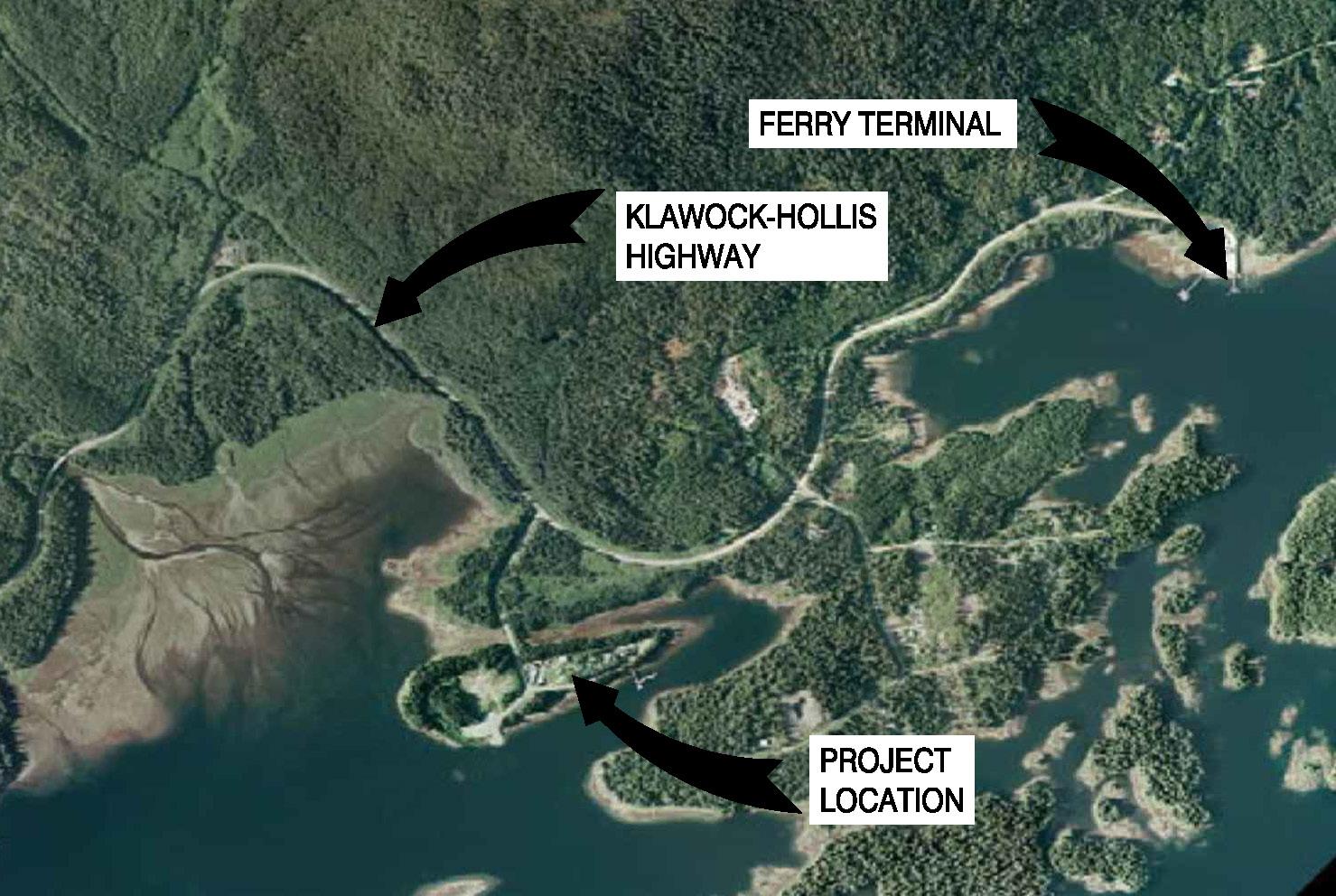 USFS Maybeso-Hollis Wastewater System Design | Hollis, Alaska