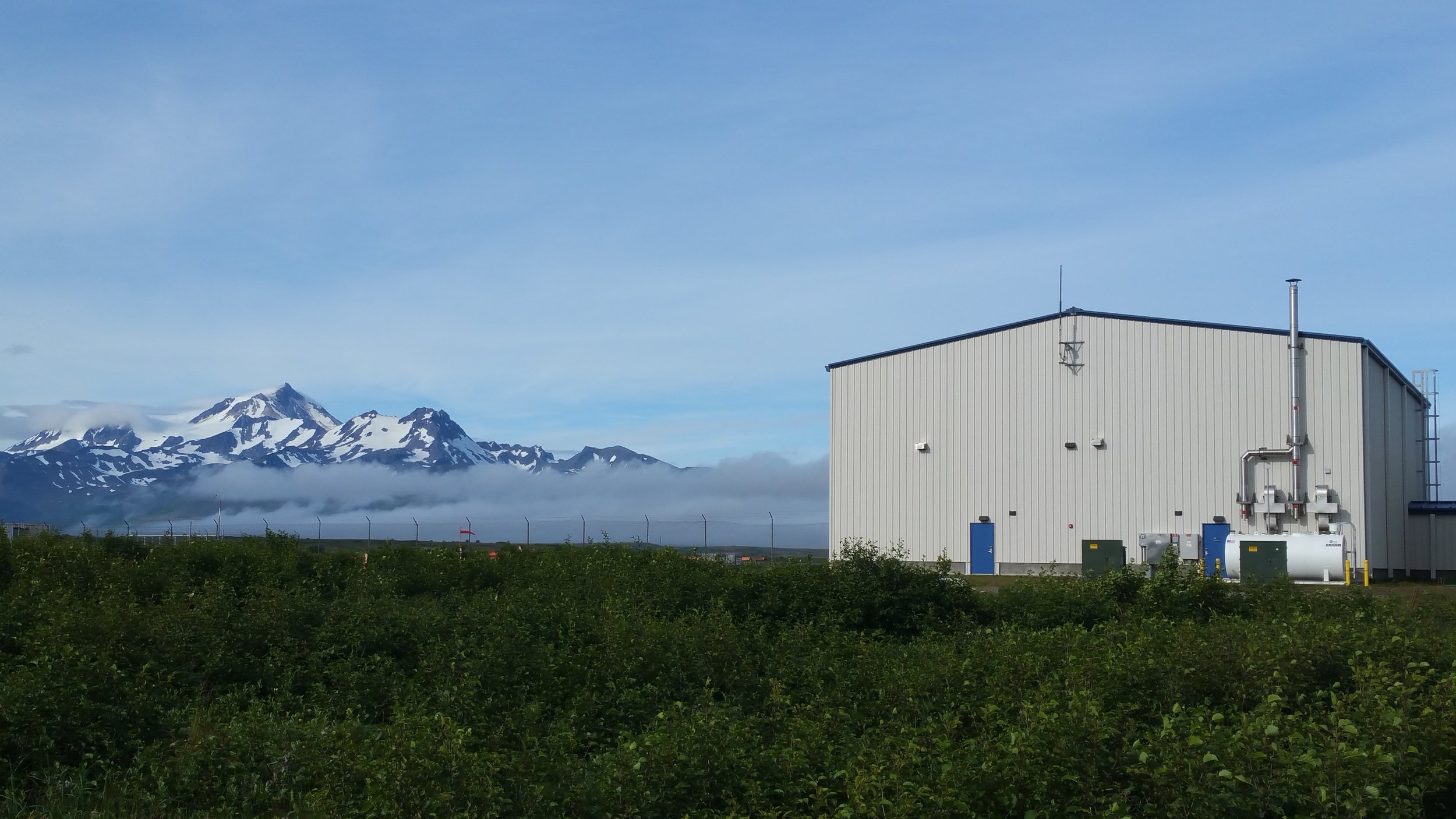 New Hangar Exterior