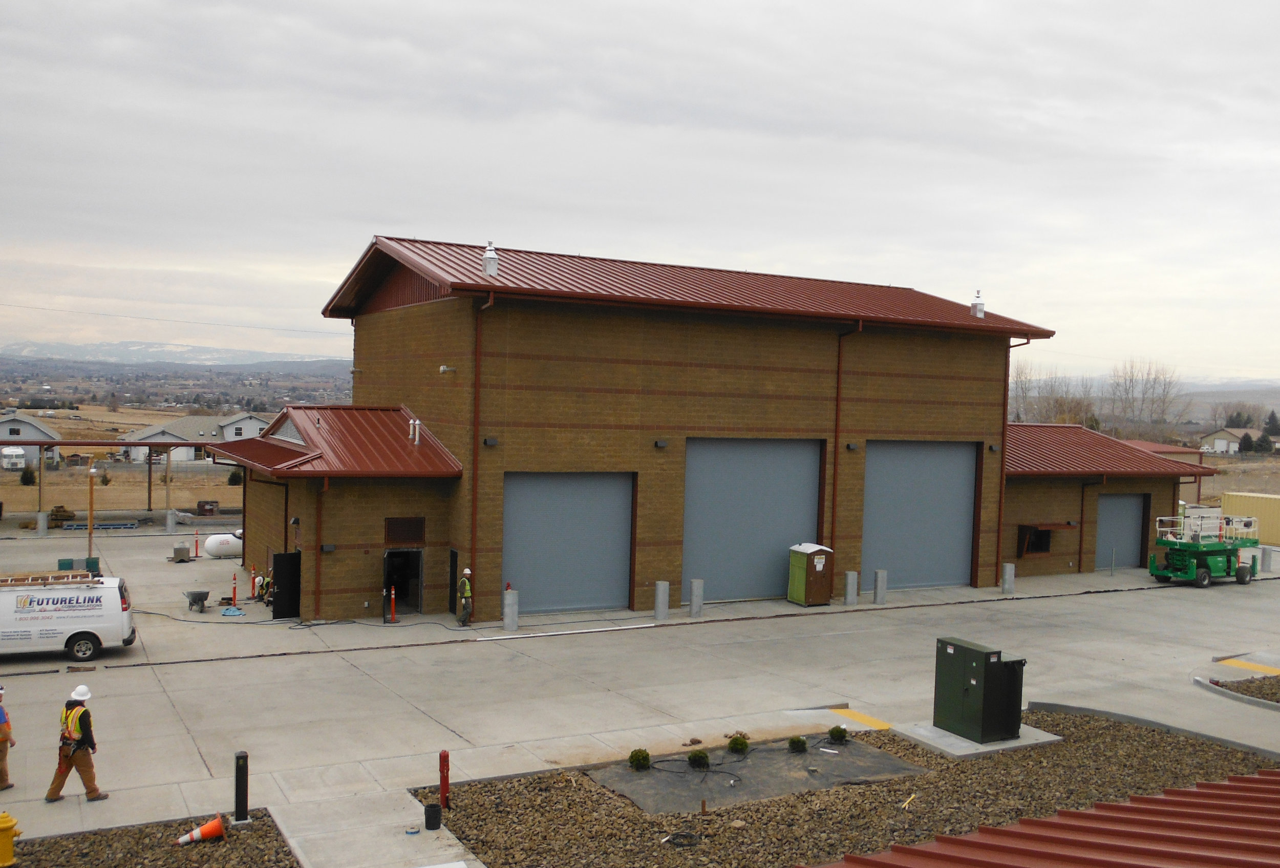 Vehicle Maintenance Facility Exterior