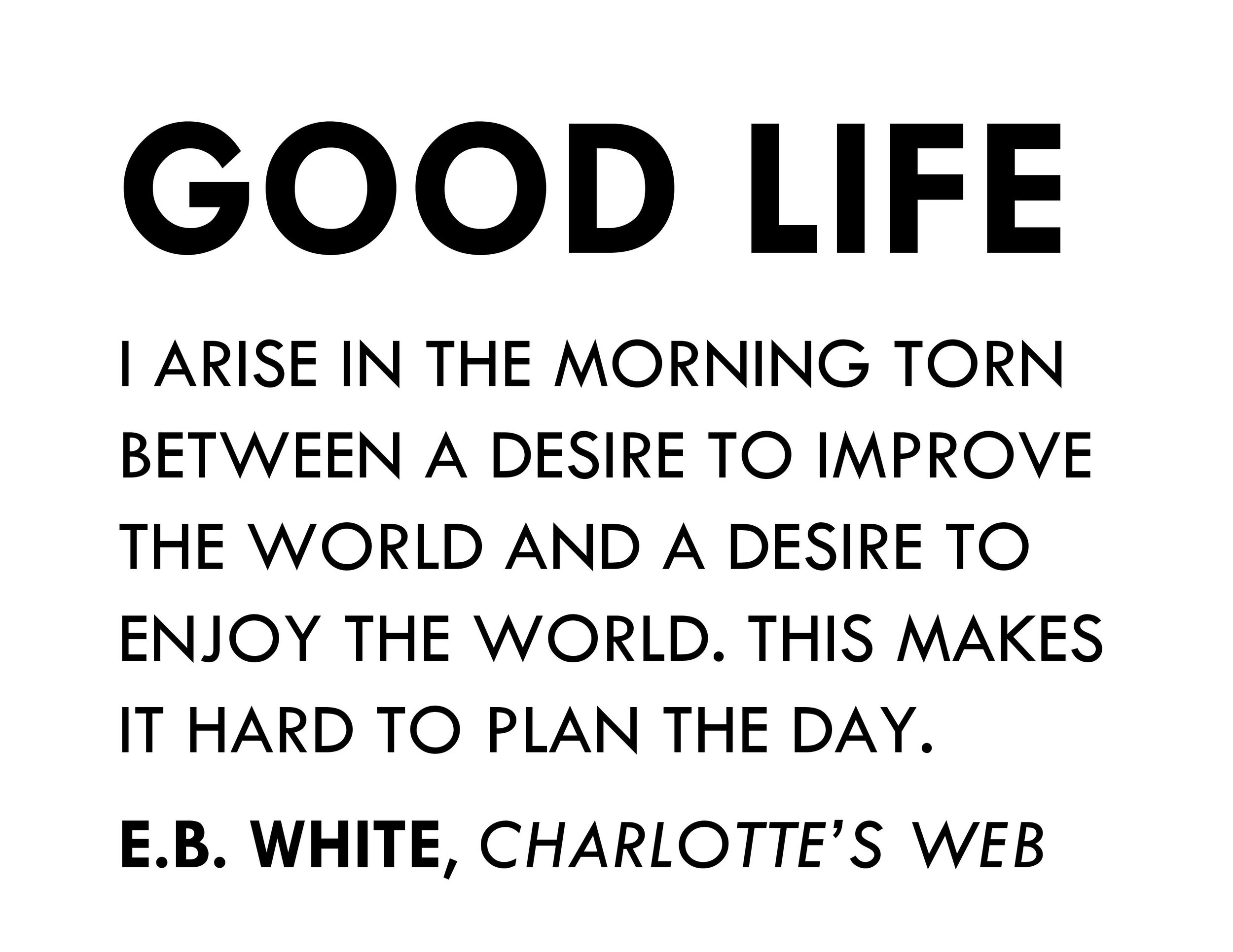 GROUP THINK - 06.2017 - GOOD LIFE - E.B. White.jpg