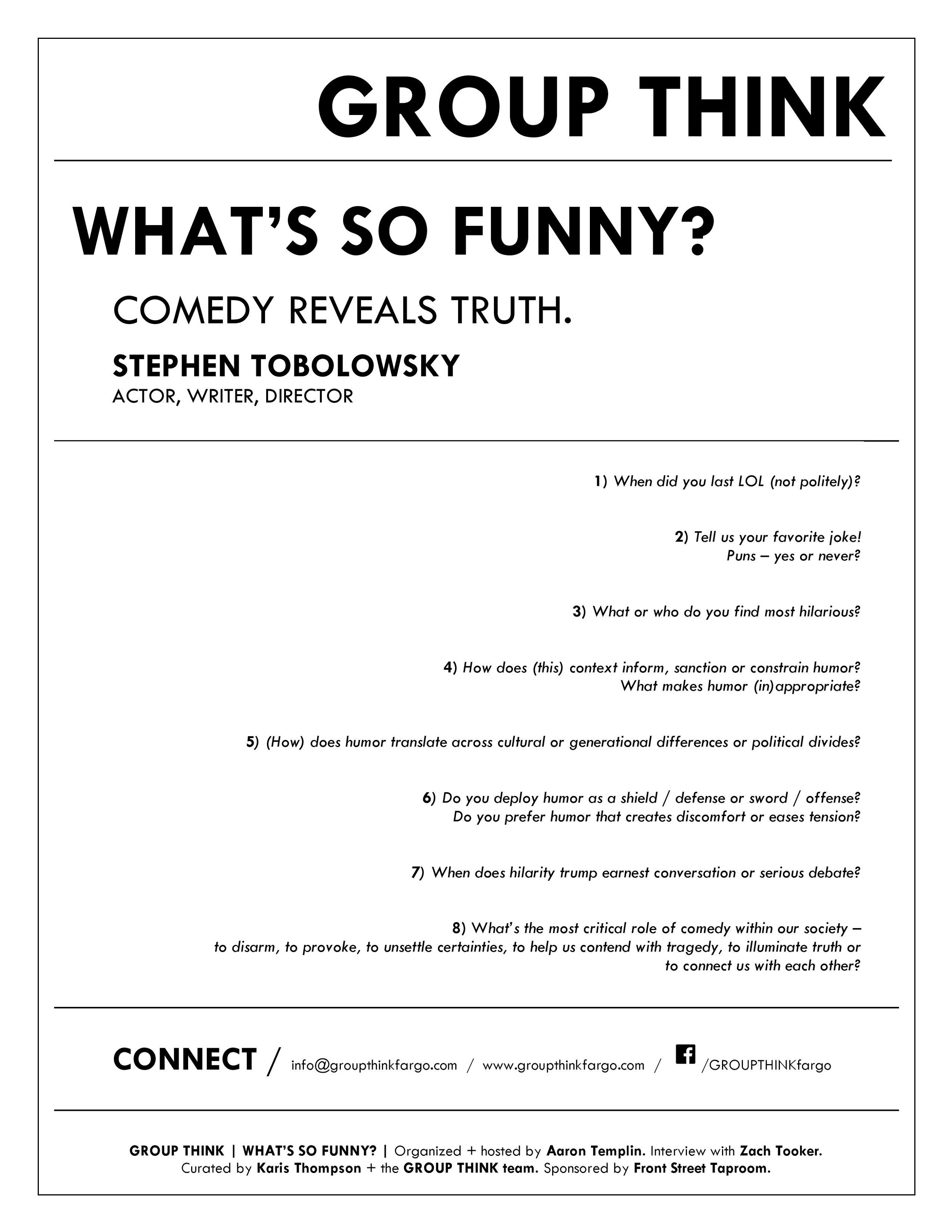 GROUP THINK - 04.2019 - WHAT'S SO FUNNY? handout-1.jpg