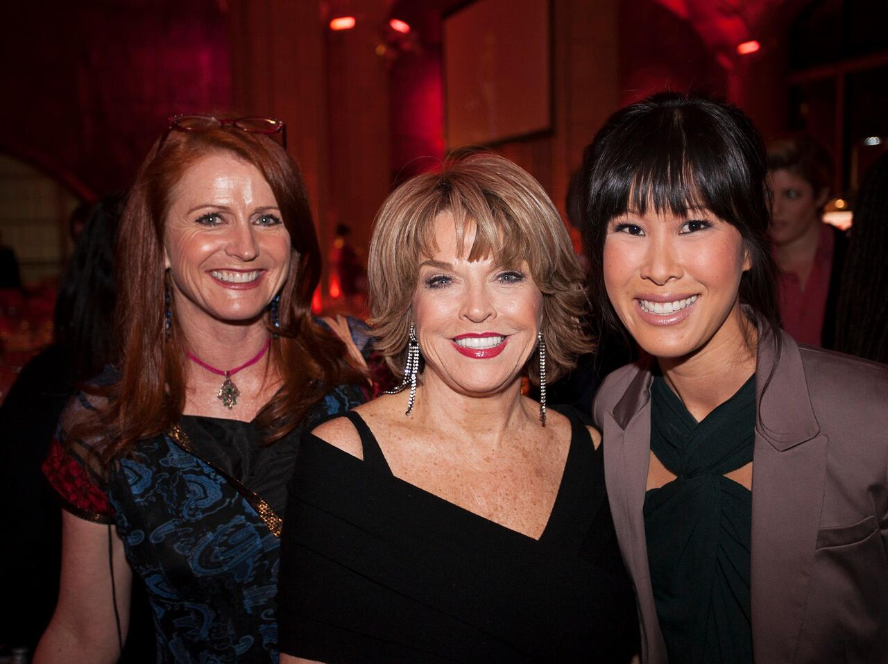 With Jodie Evans and Laura Ling