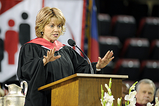 Giving a Commencement Address at the University of Georgia