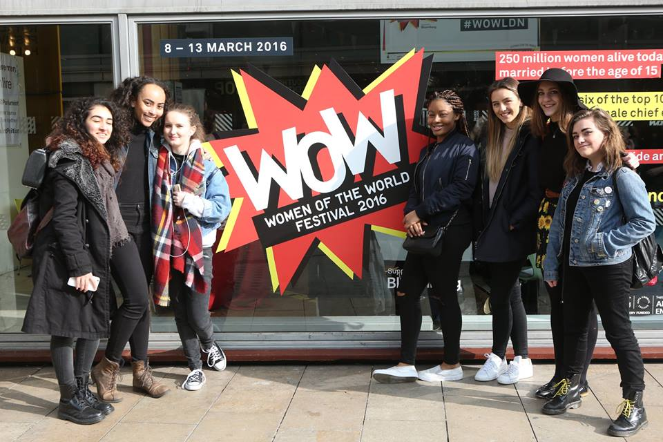 Young attendees at #WOWLDN 2016 - Photo: Belinda Lawley