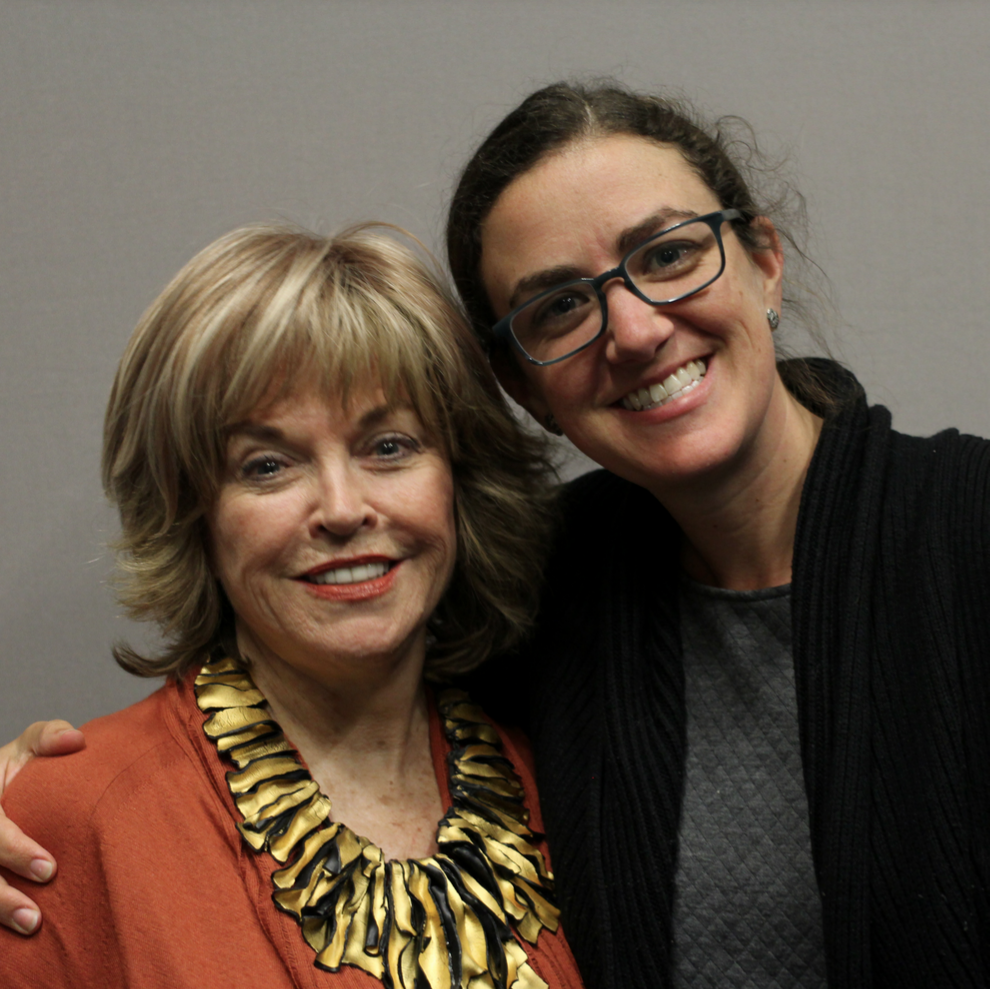 Courtney Martin and I in 2015. (Photo courtesy of  StoryCorps )