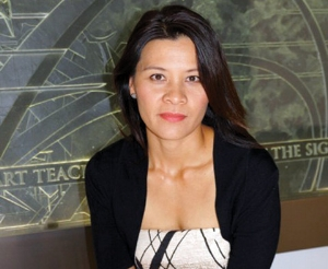 Paksy Plackis-Cheng, creator of impactmania and the Women of Impact Project
