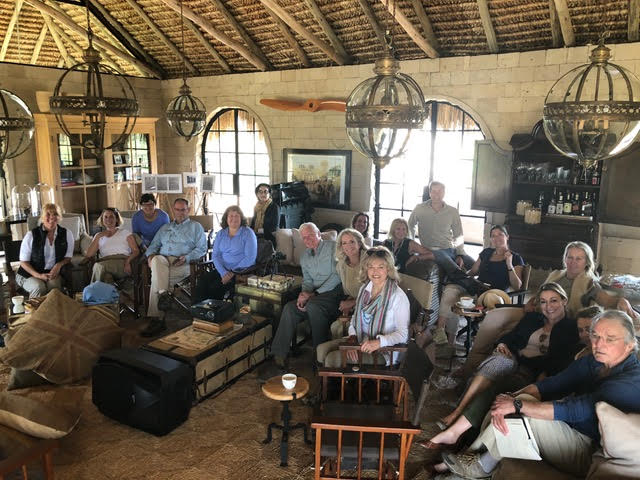 Attendees listening to a learning journey talk at 2018 Roar & Restore Retreat.