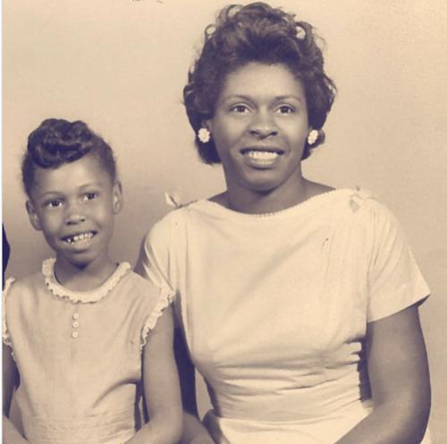 Marcia Fudge and her mother (Credit: Instagram )
