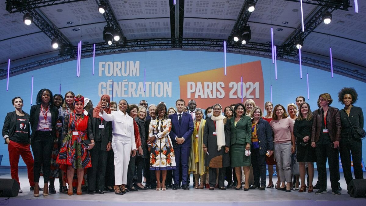 Scenes from the Opening Session of the Generation Equality Forum, held in Paris, France on 30 June 2021. |  UN Women/Fabrice Gentile / Flickr