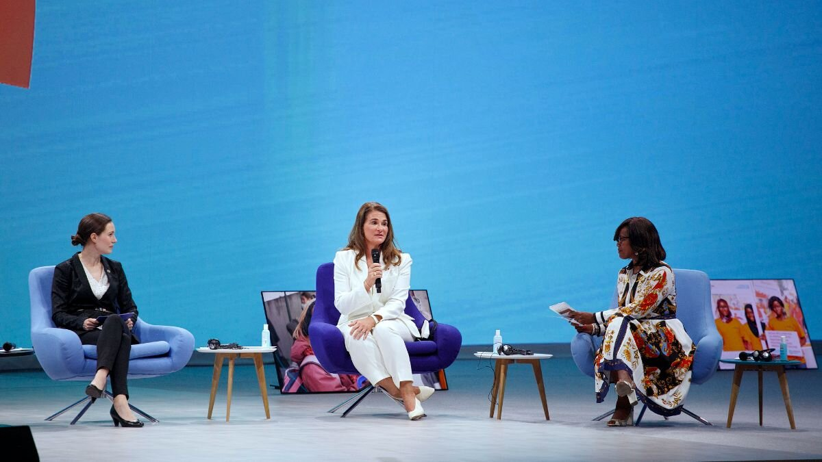 Melinda French Gates at the Generation Equality Forum, held in Paris, France on 30 June 2021. |  UN Women/Fabrice Gentile / Flickr