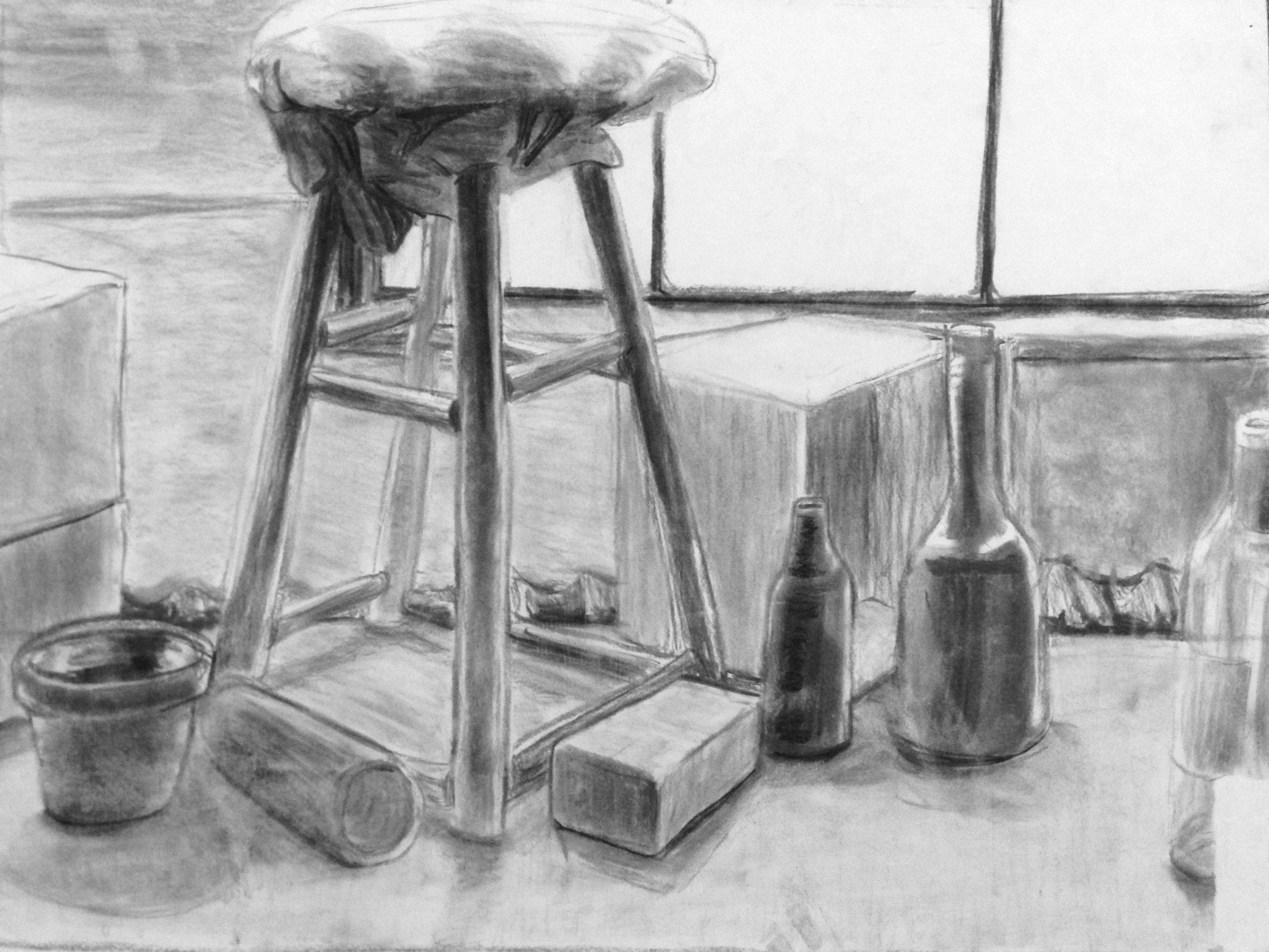Still life from Beginning Drawing