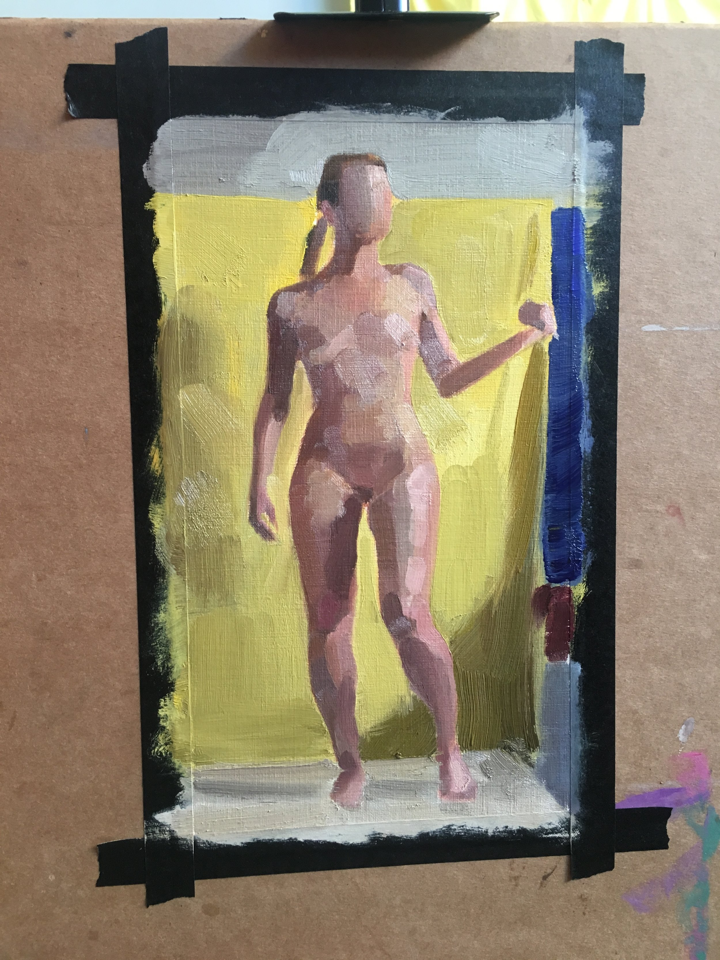 Figure Study from Observational Color Intensive