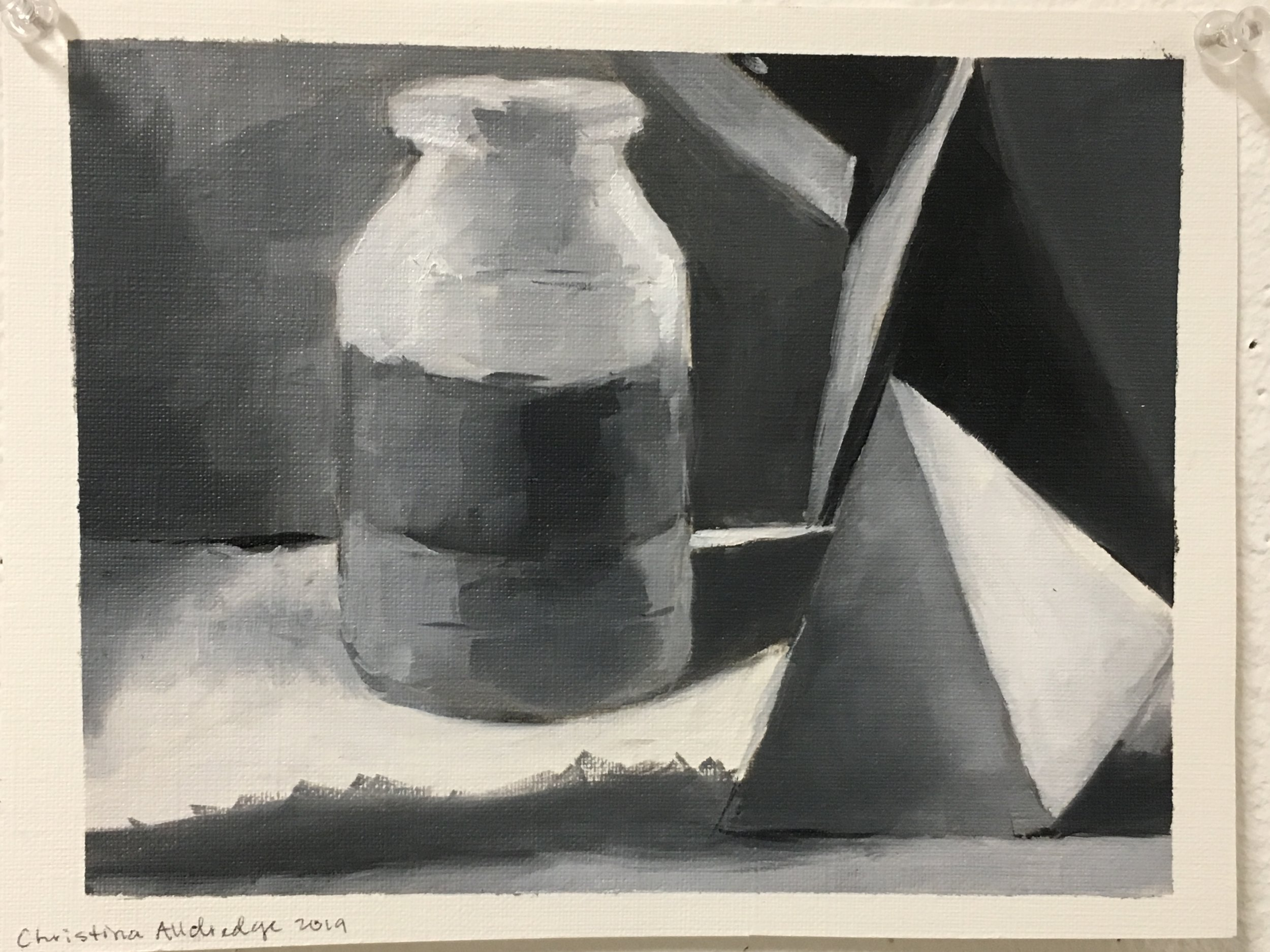Value Study from Beginning Painting