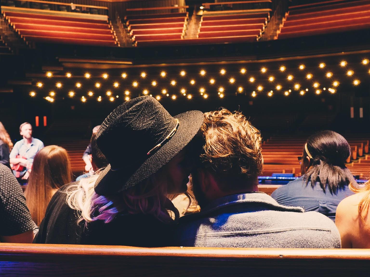 Grand Ole Opry seats: ouiwegirl.com