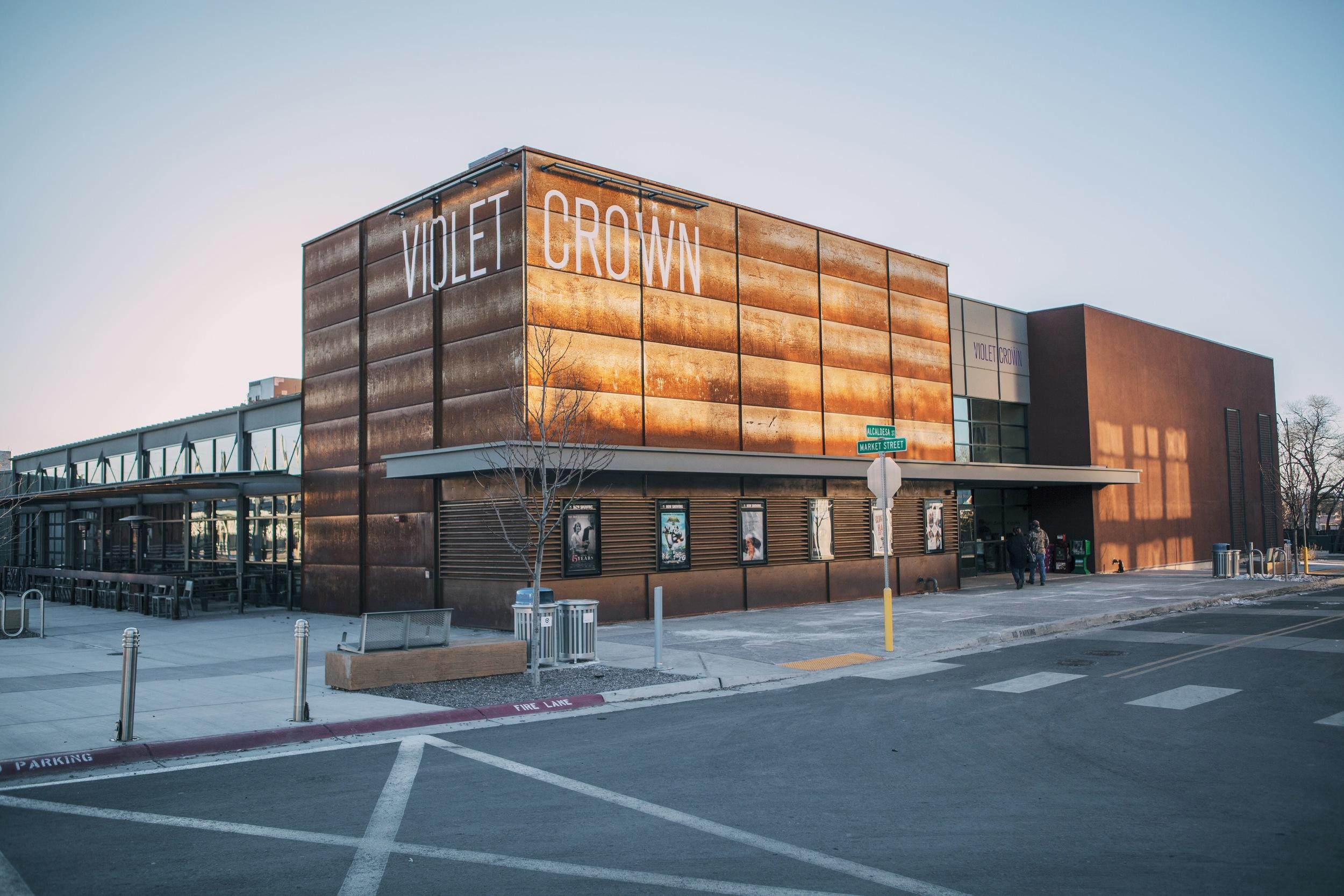 violet crown movie theater : ouiwegirl.com
