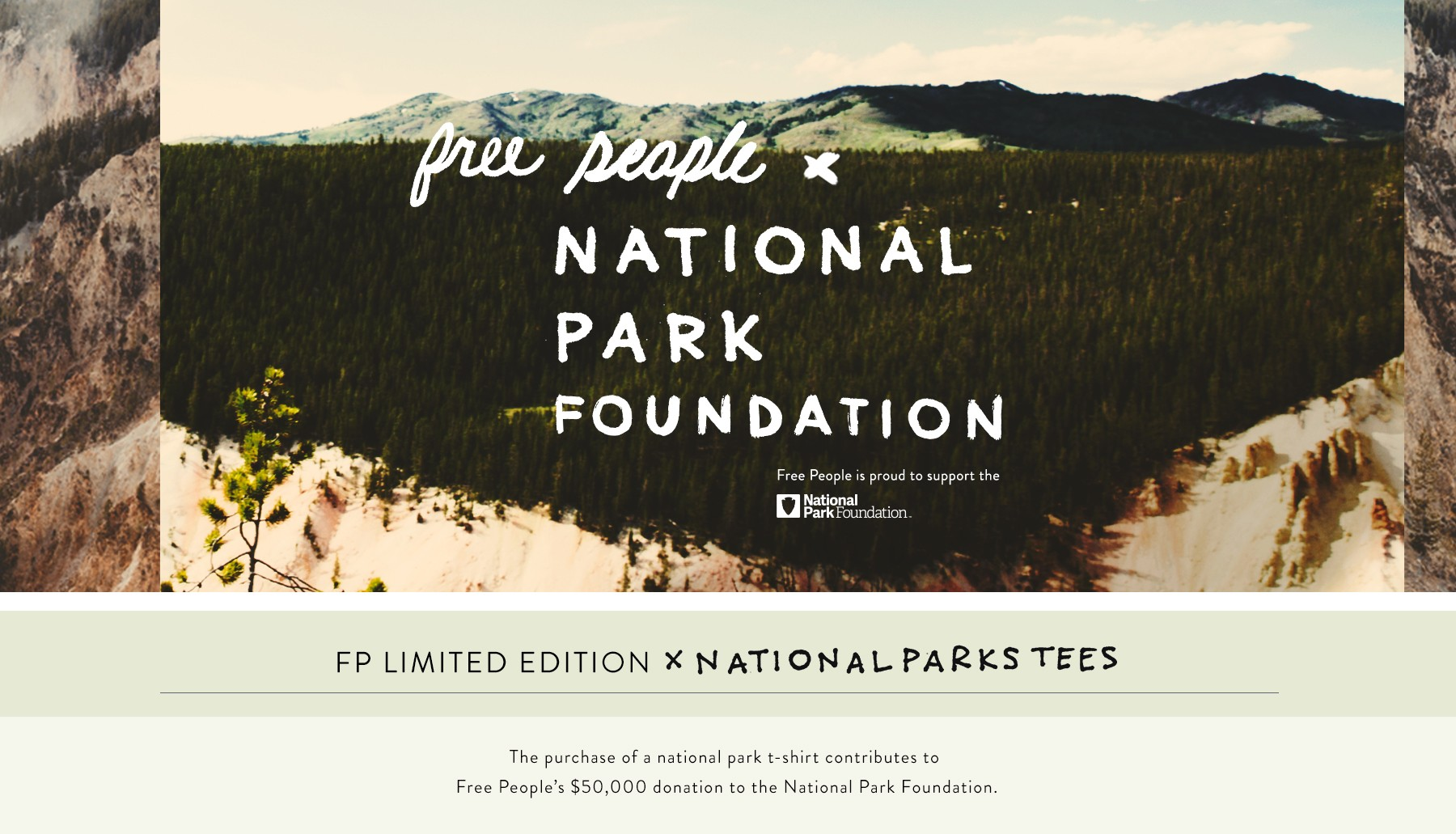 Free People x National Park