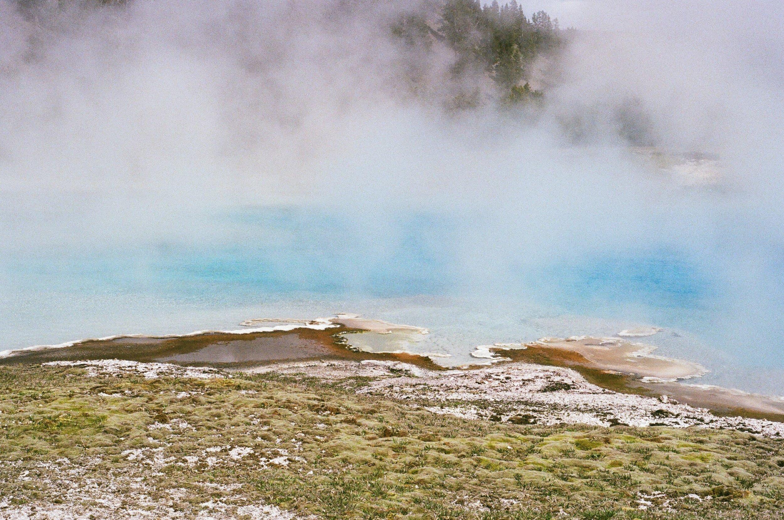 Yellowstone Geiser