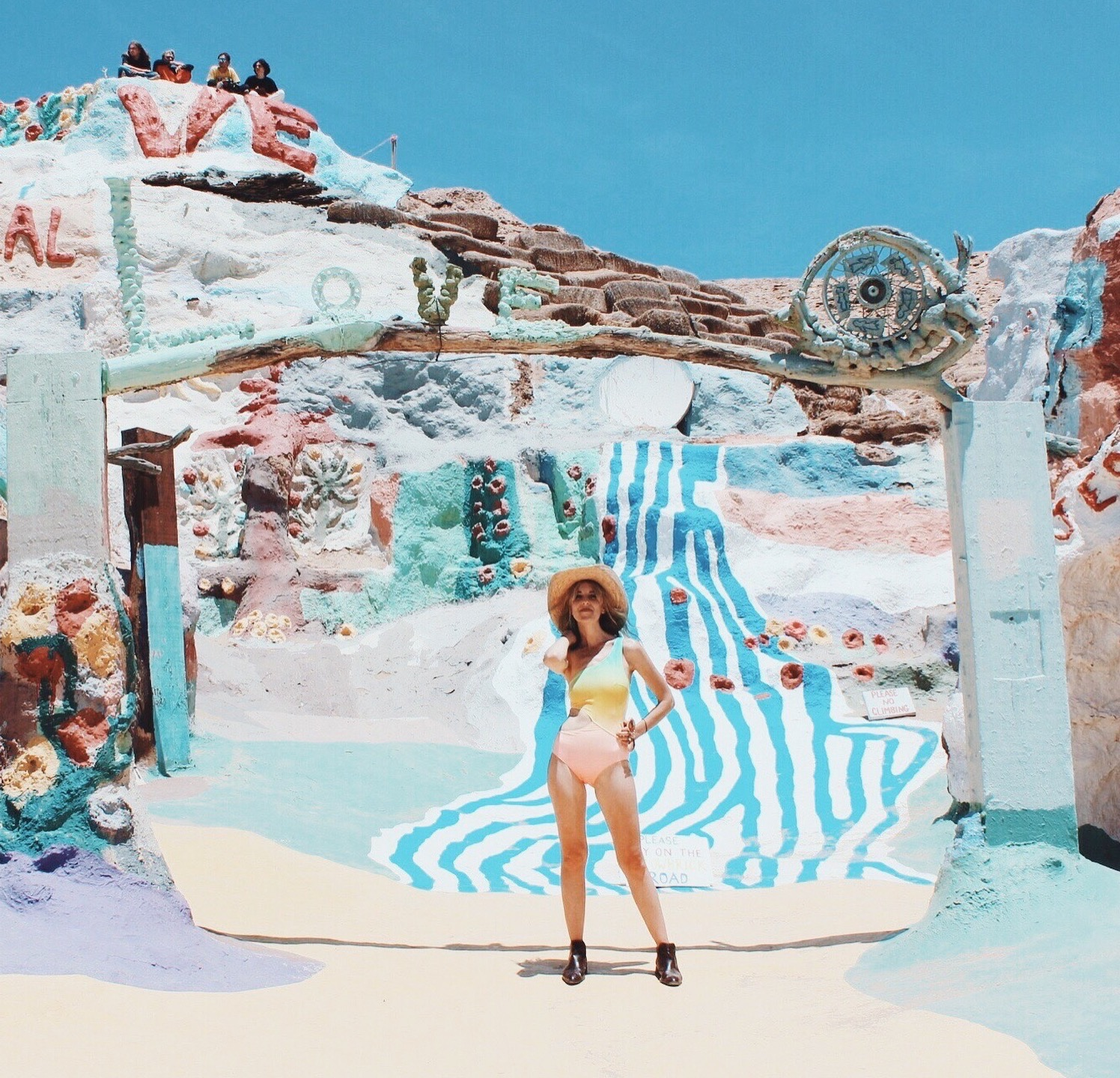 Salvation Mountain Style