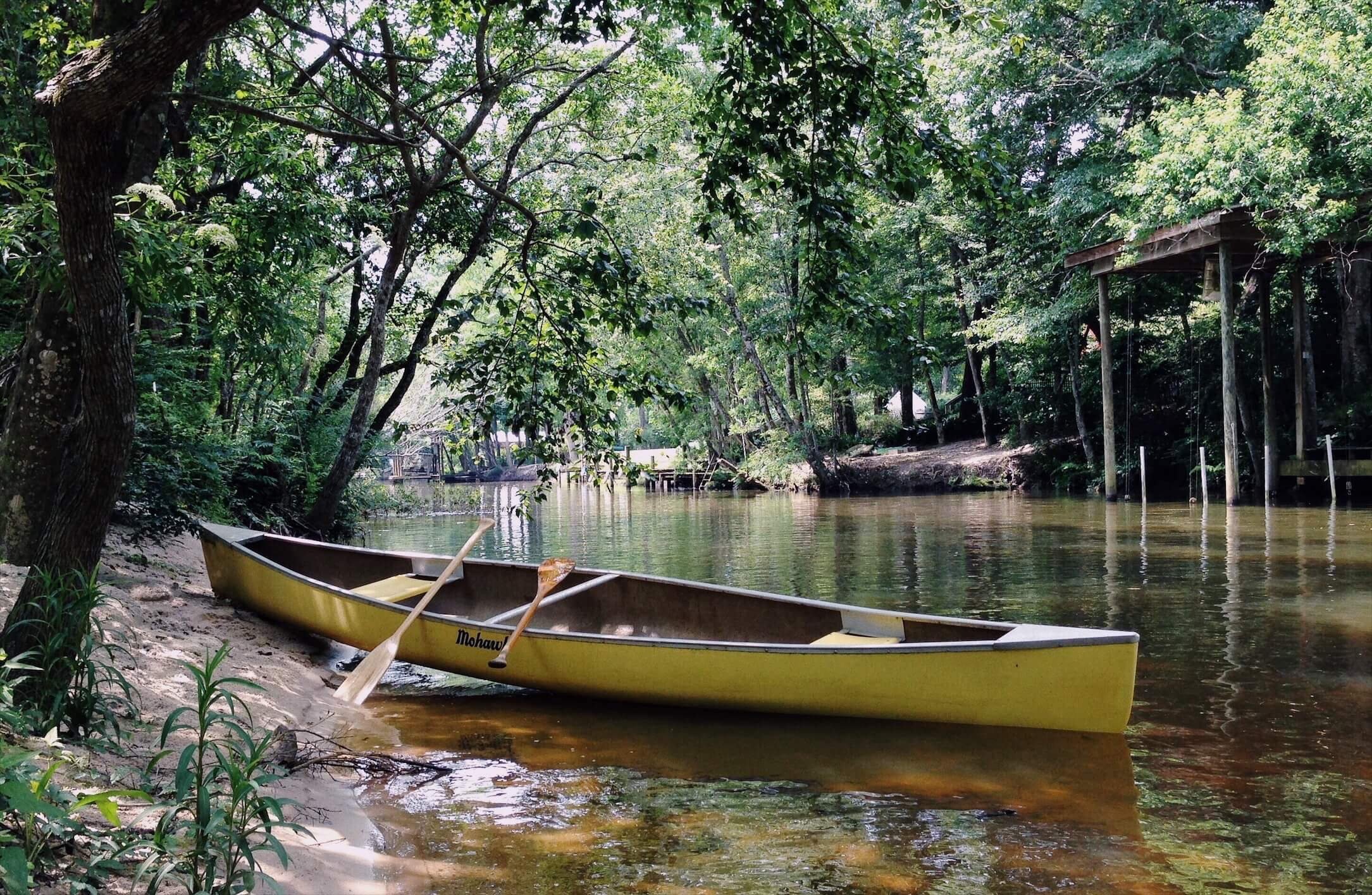 Canoe in Fairhope
