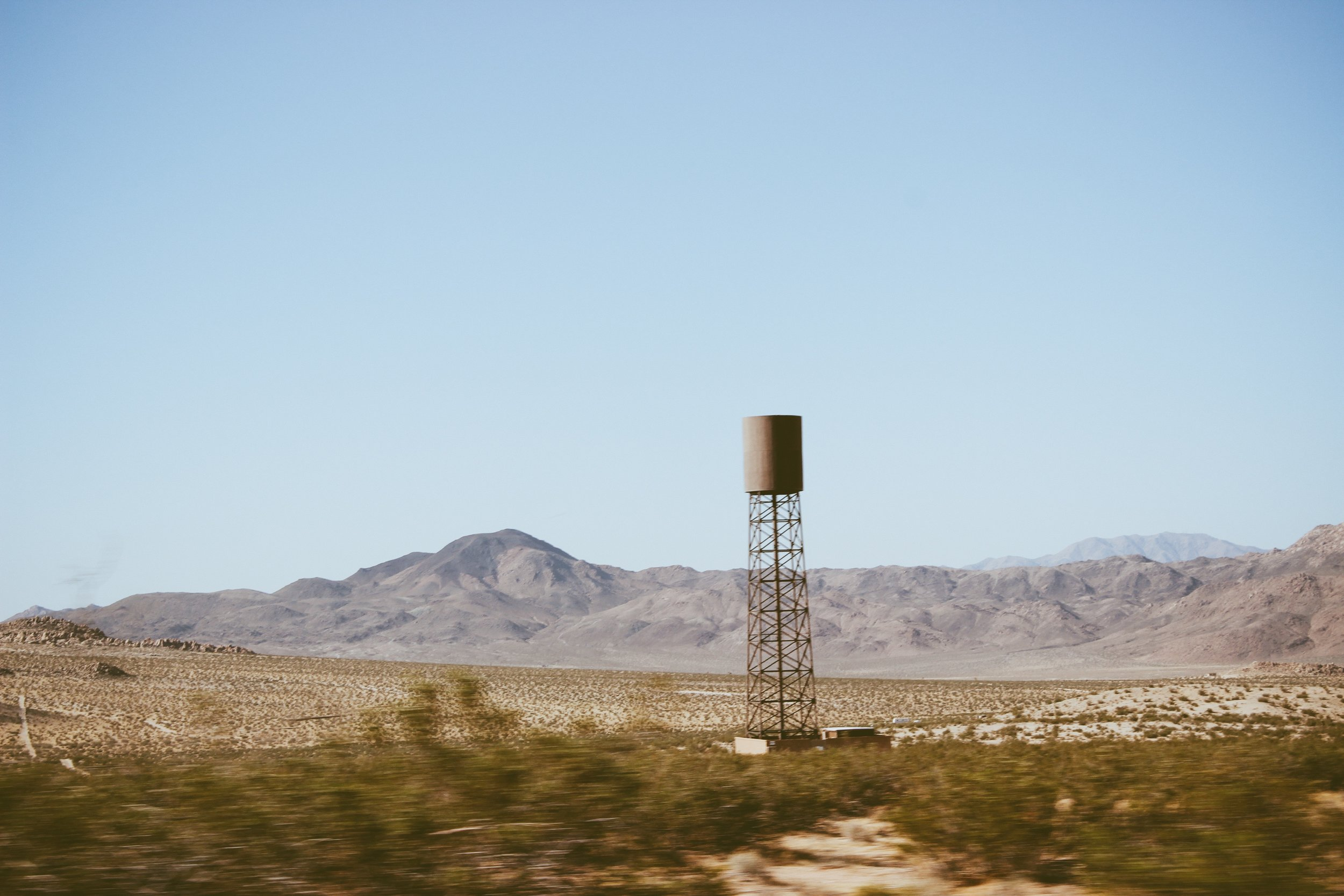 On the road from Joshua Tree | Oui We
