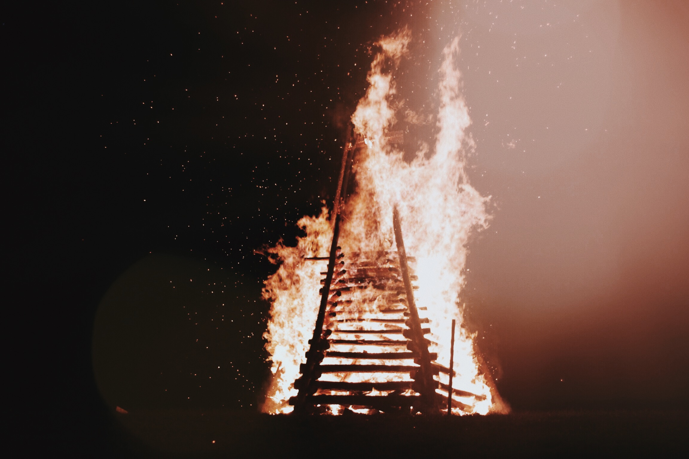 Levee Bonfire | Oui We by Andi Eaton